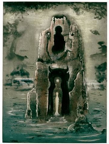 The memory tower. Leonora Carrington.