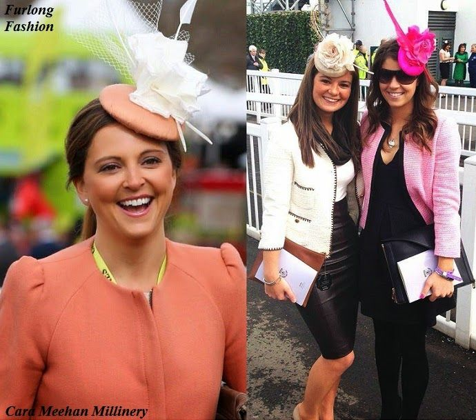 Gina Bryce Channel 4 presenter fashion at the races ...