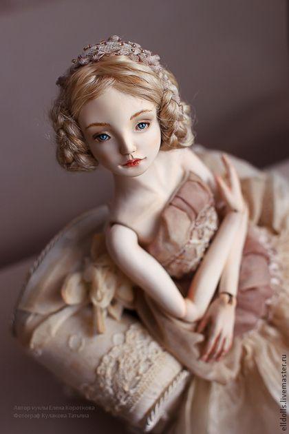 Утонченная и грациозная шарнирная кукла Мари — работа дня на Ярмарке Мастеров…