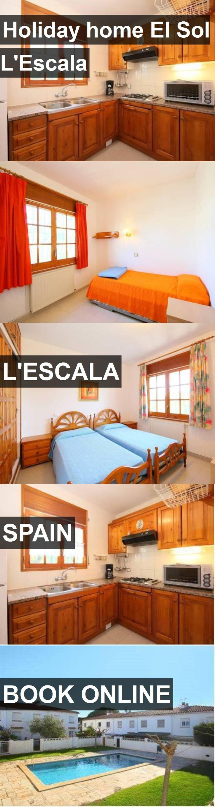 Hotel Holiday home El Sol L'Escala in L'Escala, Spain. For more information, photos, reviews and best prices please follow the link. #Spain #L'Escala #travel #vacation #hotel