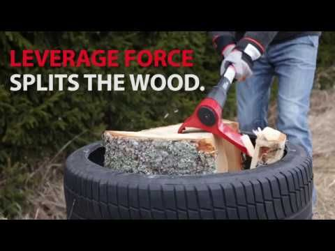 LEVERAXE CHOPPING TECHNIQUE  Leveraxe is a new tool that works in an entirely different way than the conventional axes. Learn how to use Leveraxe correct and efficient way.