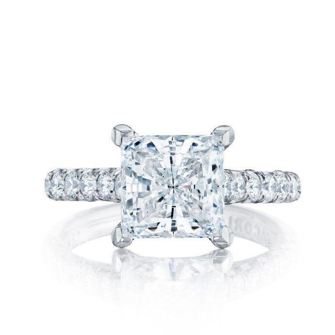 Tacori - Petite Crescent Engagement Ring. $5,280.