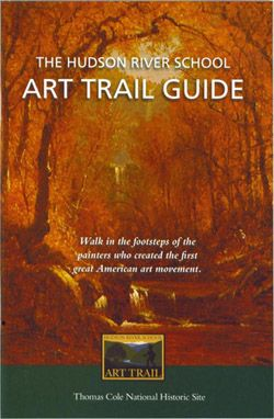 "AO 1 Term 3 2013-2014  Hudson River School Kevin Avery, ""The Hudson River School Art Trail Guide"""