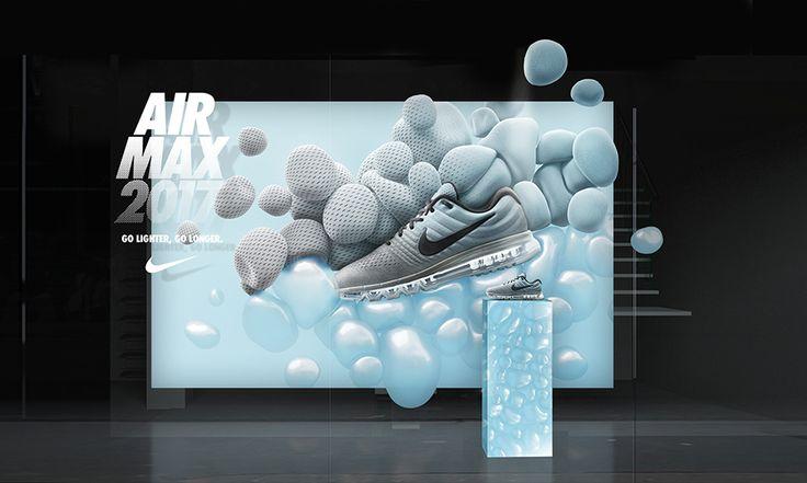 Рекламная кампания Air Max 2017. Nike. / peopleofdesign