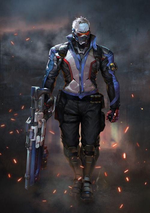 Soldier 76 - https://ing9.artstation.com/