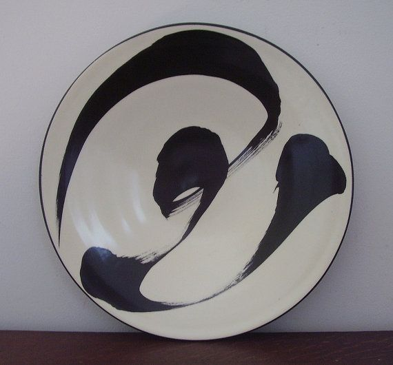 Asian Porcelain Charger or Plate by Ann Mallory