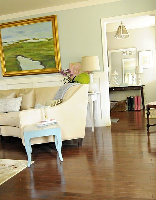Tidewater by sherwin williams master bedroom pinterest - Traditional living room paint colors ...