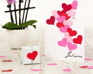 Réalisez vous-même une carte d'amour pour la Saint-Valentin. Retrouvez tous les conseils pour créer une carte originale et décorative.