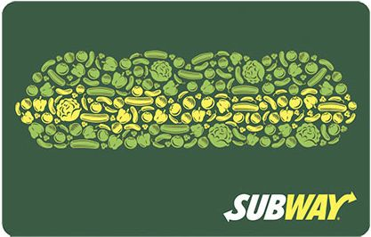 Subway Gift Card                                                       …