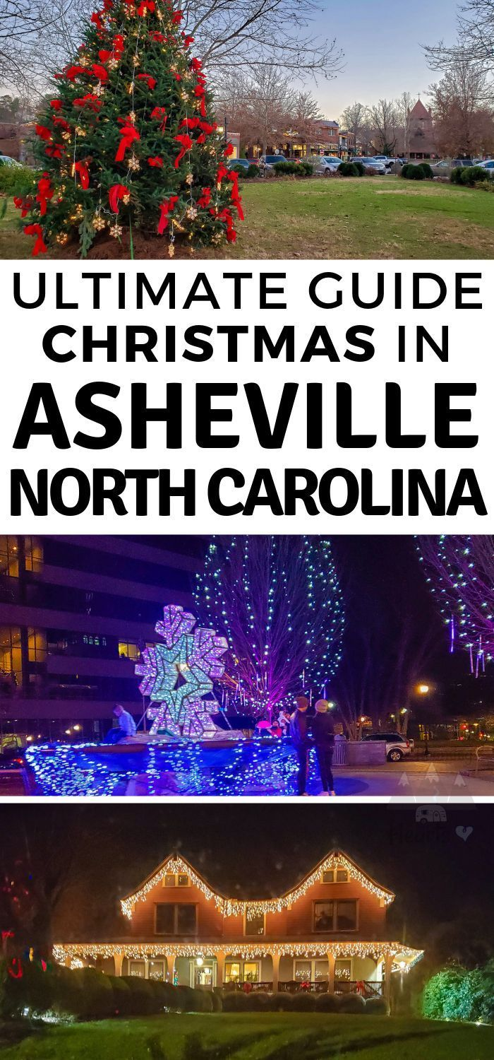 Everything to See During an Asheville Christmas in 2020