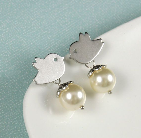 Birds and pearls.