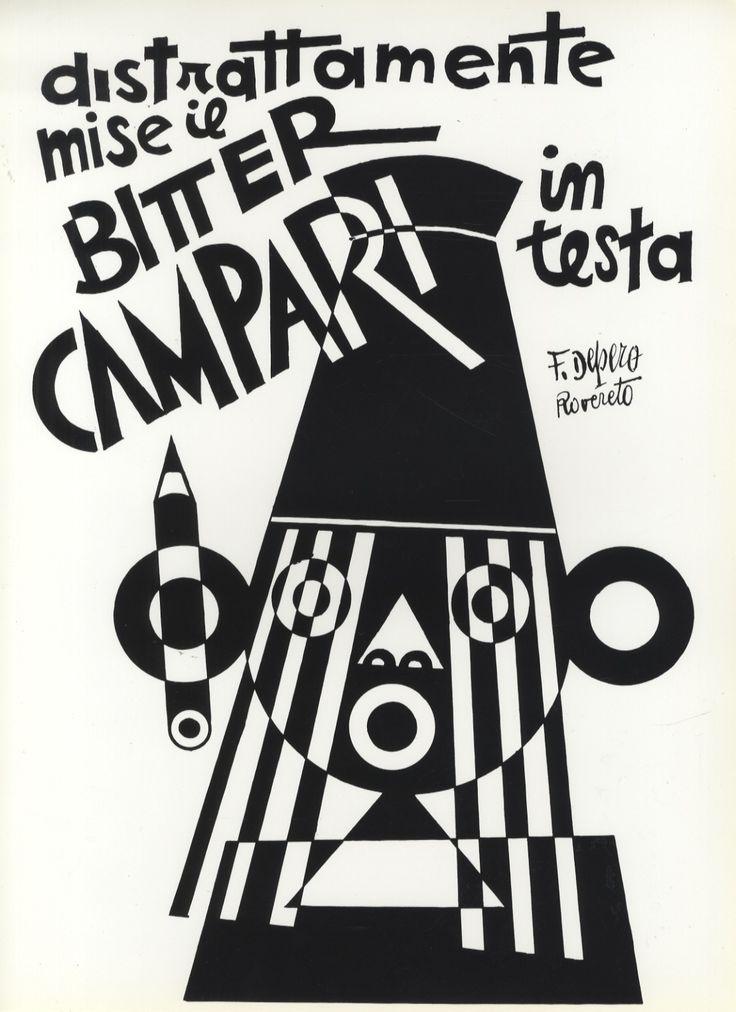 Bitter Campari | Fortunato Depero | Italy, 1931