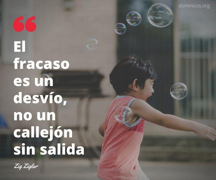 """Feliz Jueves"""" El fracaso es un desvío no un callejón sin salida """" @dominicos_es"""