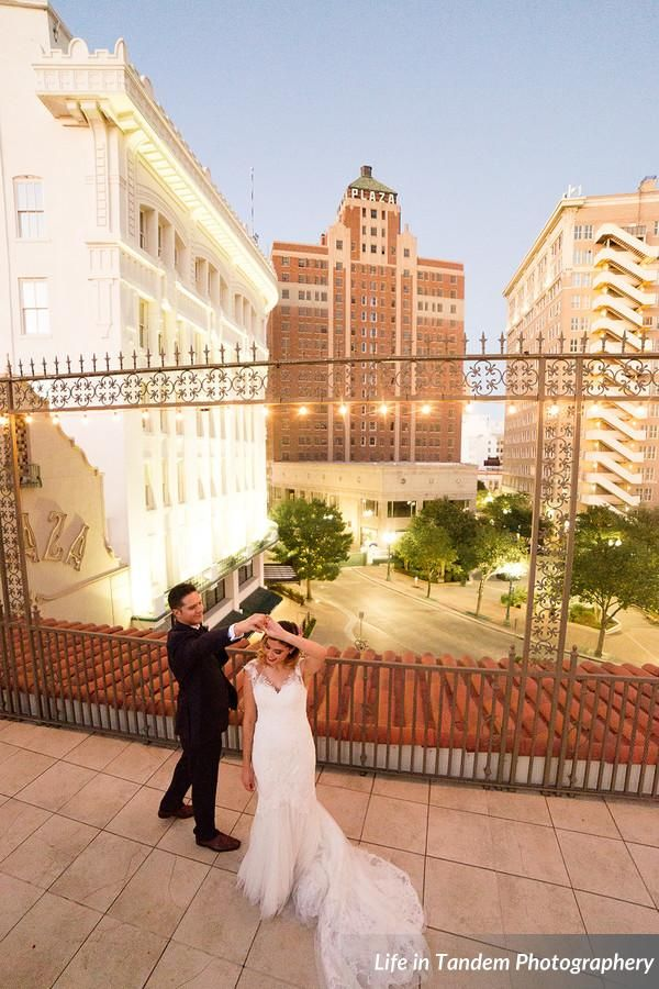 Photo By Life In Tandem Photography Wedding Gown By Ella Blue Located At The Downtown Alcantar Sky Garden El Paso Tx Wedding Bells Wedding Photography Wedding