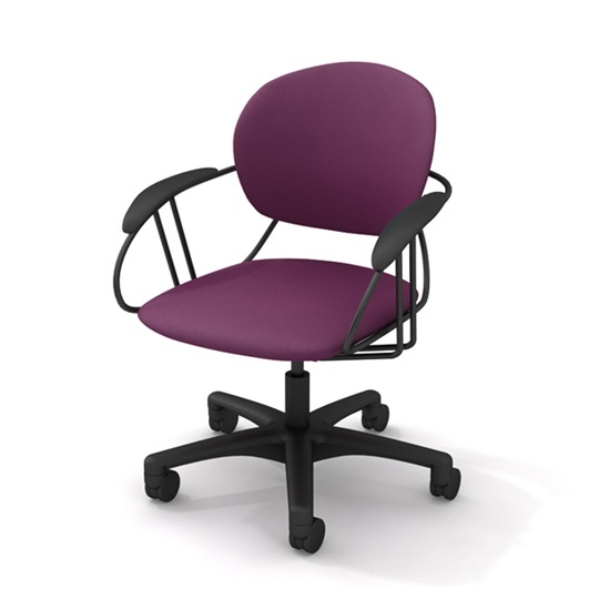 23 best images about Purple fice Chairs on Pinterest