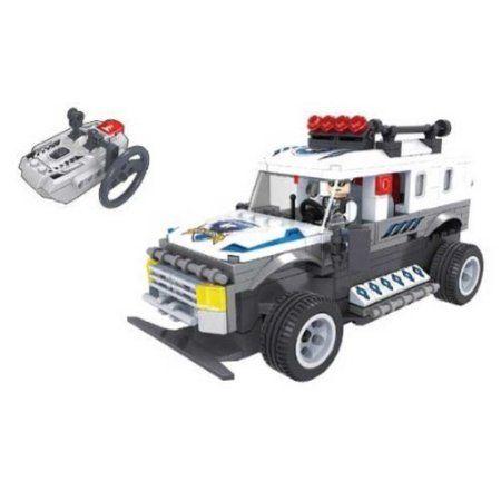 R/C Action- Police Truck, Multicolor