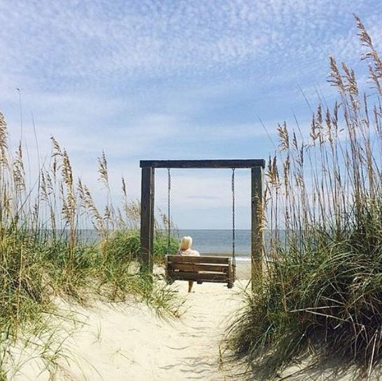 It's time to Relax + Unwind on the beaches of #TybeeIsland, Georgia. [Photo by @jjjjutta] #VisitTybee #ExploreGeorgia #Beach #Vacation #Savannah #VisitSavannah