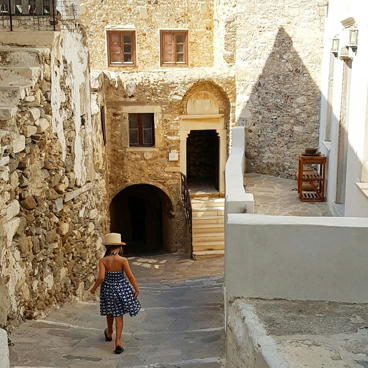 Miss Mia Naxos Island Old Town Greece