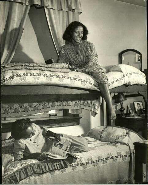 004 Dorm life at Howard University in 1946 Natural Hair
