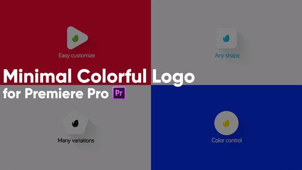 Minimal Colorful Logo For Premiere Pro Logo Color Premiere Pro Logos