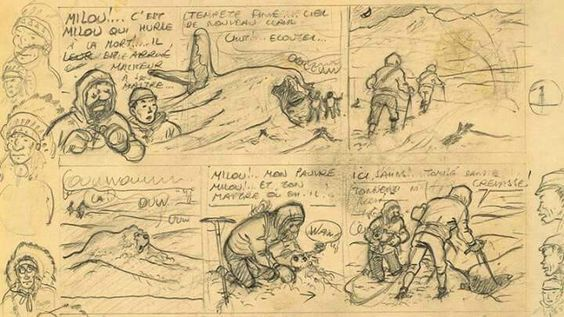Hergé - Georges Prosper Remi (1907 – 1983). Tintin au Tibet. [Pinned 30-vii-2015]: