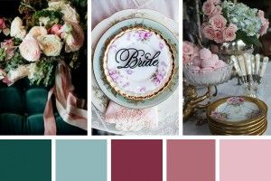 Tale As Old As Time: An Eclectic Vintage Wedding Inspiration Palette | OneFabDay.com Ireland