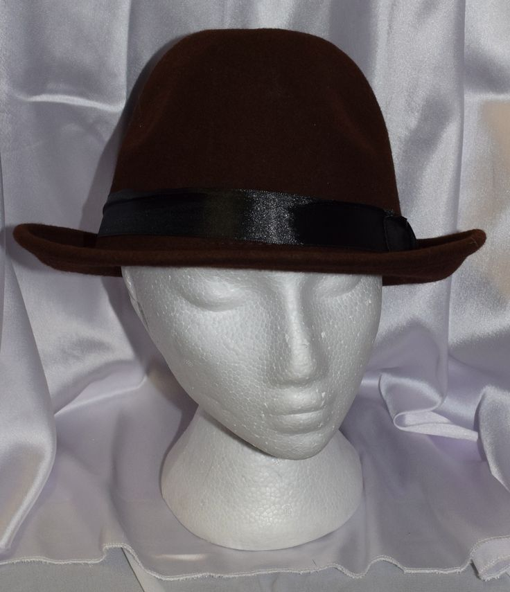 Chocolate Brown Fedora