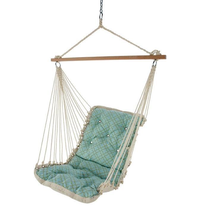Single point hammock swing