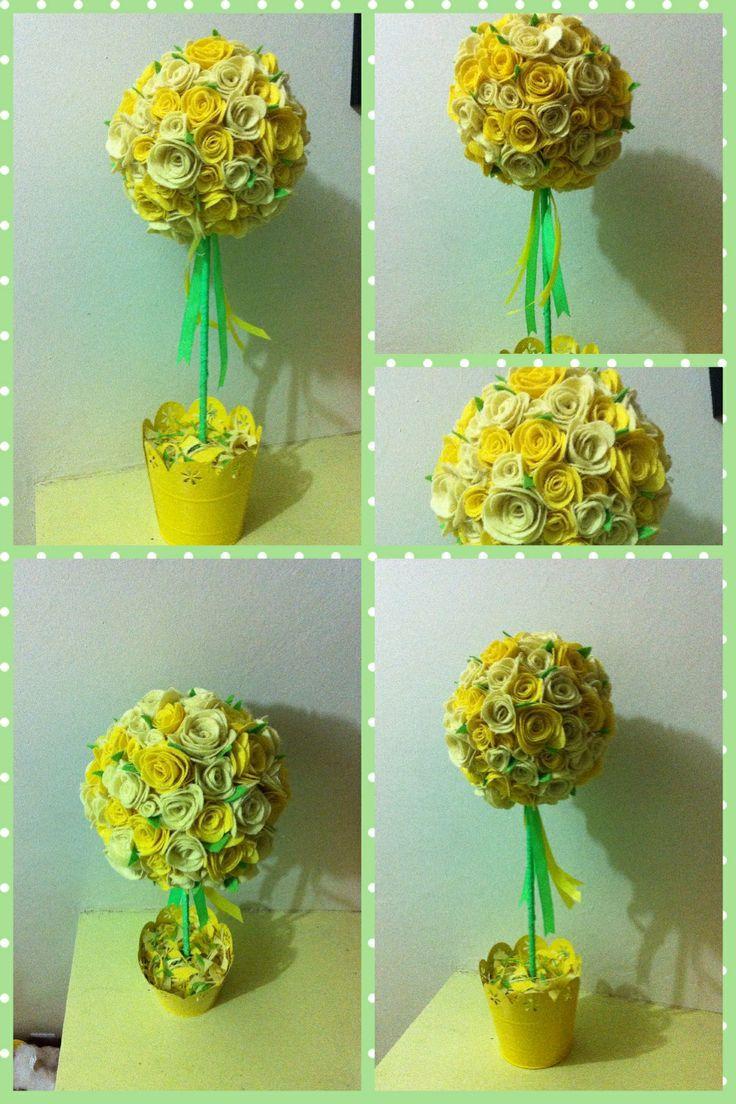 12 Best Polystyrene Balls Images On Pinterest Paper Flowers