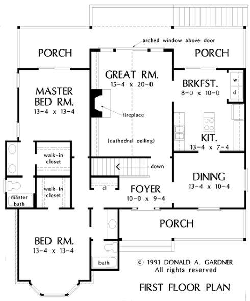 First Floor Plan Of The Pelham Ridge