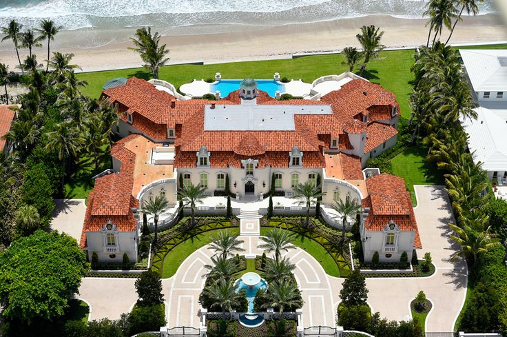 35,000 SQ. FT. PALM BEACH MANSION REDUCED TO $69.9M