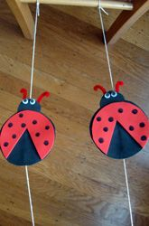 Activities: Make Ladybug Tightrope Racers--okay, this says 1st grade, but I think anyone with a childlike heart would get a kick out of making this and then testing it out.