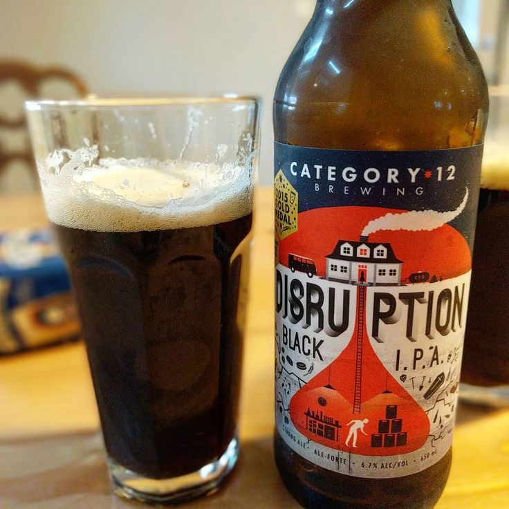 @beer.did.lady on Instagram: Thirsty yet? Winner of the 2015 Canadian brewing awards - #category12brewing 's Disruption Black #IPA. It's raining and I'm in need of some dark beer comfort.  6.7% ABV 77 IBU Victoria, BC  #beer #beers #beerstagram #beerporn #beerdrinker #beersofinstagram #craftbeer #craftbrewing #beersnob #brew #brewery #bcbeer #beerdidlady