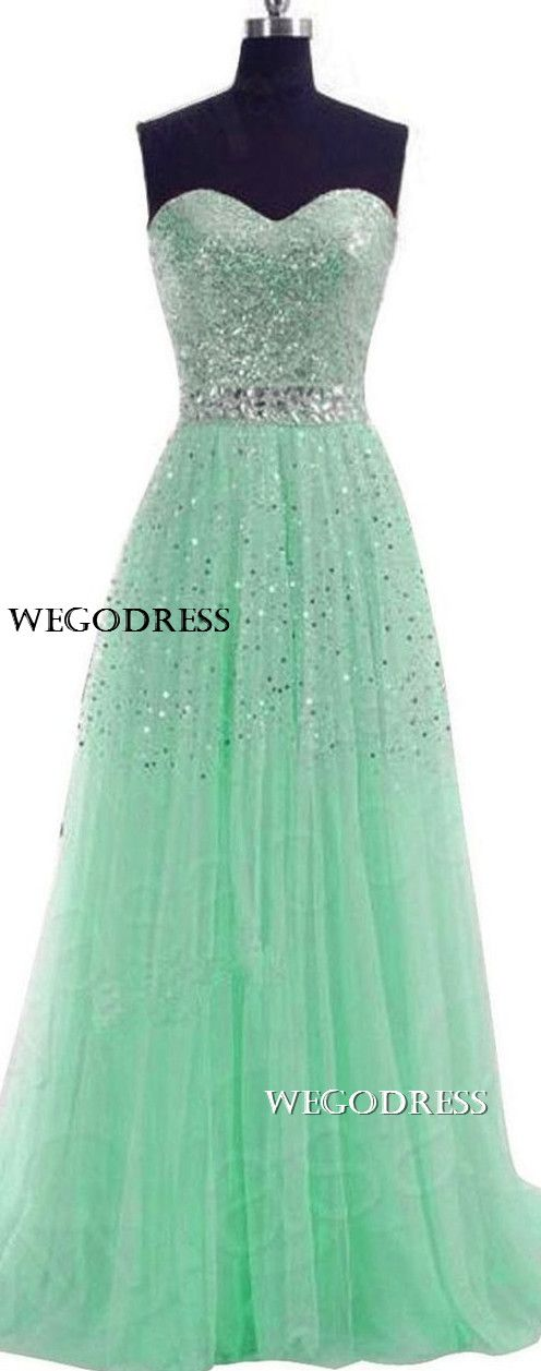 Pinterest: jasminecampos3   Teal  prom dress