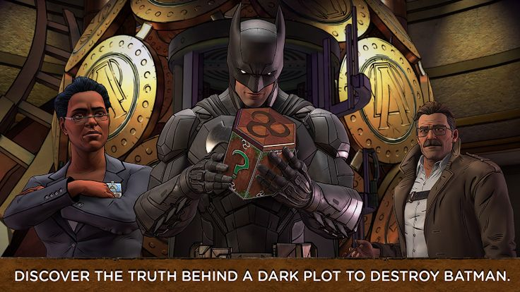 Batman: The Enemy Within v0.08 (Unlocked)   Batman: The Enemy Within v0.08 (Unlocked)Requirements:Android 4.4Overview:EPISODE 2 is available to download via in-app purchase! In this latest chapter from the award-winning studio behind Batman - The Telltale Series both Bruce Wayne and Batman will be forced into precarious new roles.  The Riddler has returned to terrorize Gotham City but his gruesome puzzles merely foreshadow an even greater crisis. With the arrival of a ruthless federal agent…