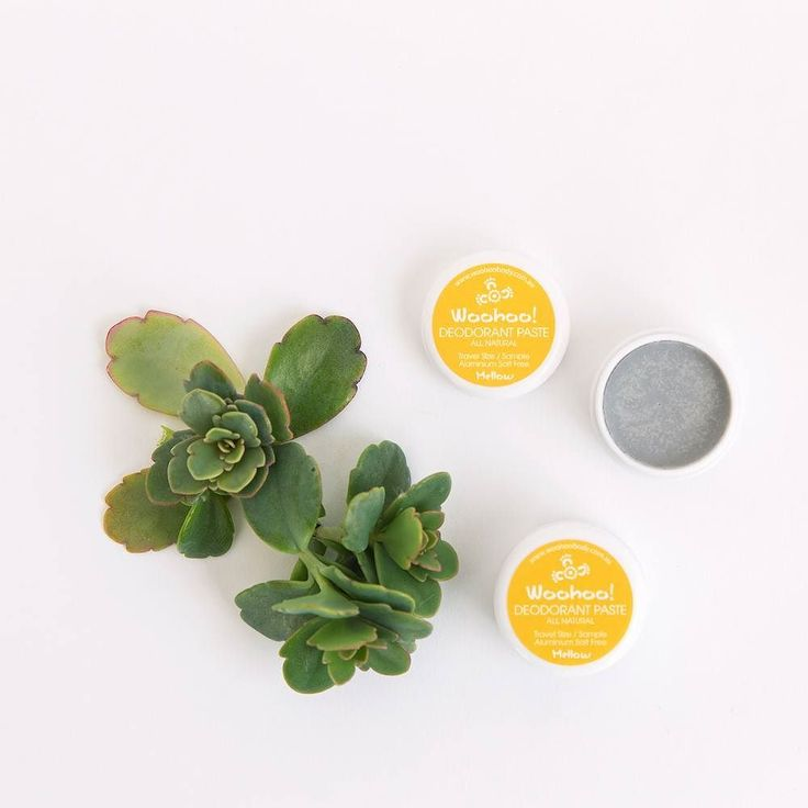Weve been working on a very different Woohoo  a bicarb soda free fragrance free and palm oil free Woohoo All Natural Deodorant Paste. If your skin is sensitive Woohoo Mellow is your go-to deodorant. Try it in the sample size today.