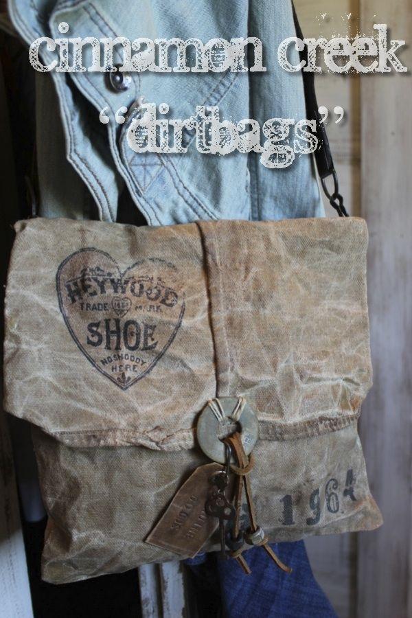 "CrAzY CooL handmade ""DiRtBaGs"" by Dru Ann Jeffires….  http://www.picturetrail.com/cinnamoncreek  or afinefarmhouse@blogspot.com"