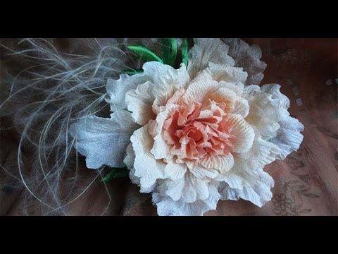 """Хризантема """"Красотка"""" 1 часть. Цветы из ткани своими руками.Мастер класс. - YouTube"""