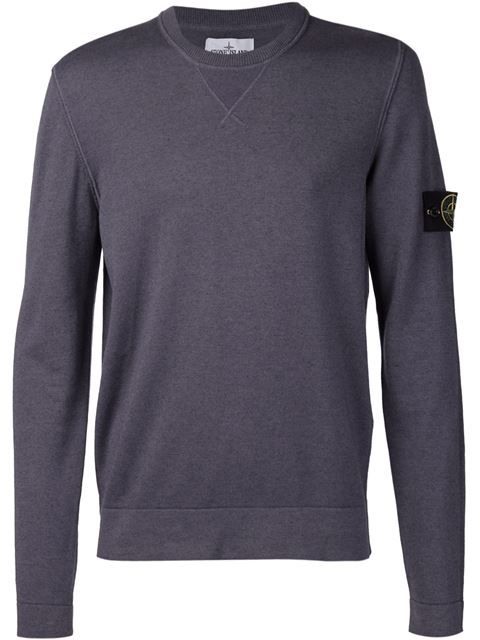 Shop Stone Island crew neck sweatshirt  in Mario's from the world's best independent boutiques at farfetch.com. Shop 300 boutiques at one address.