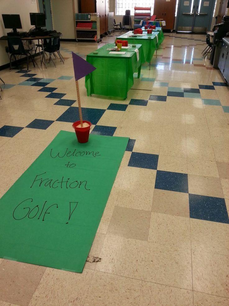 Fraction Golf! Interesting idea!