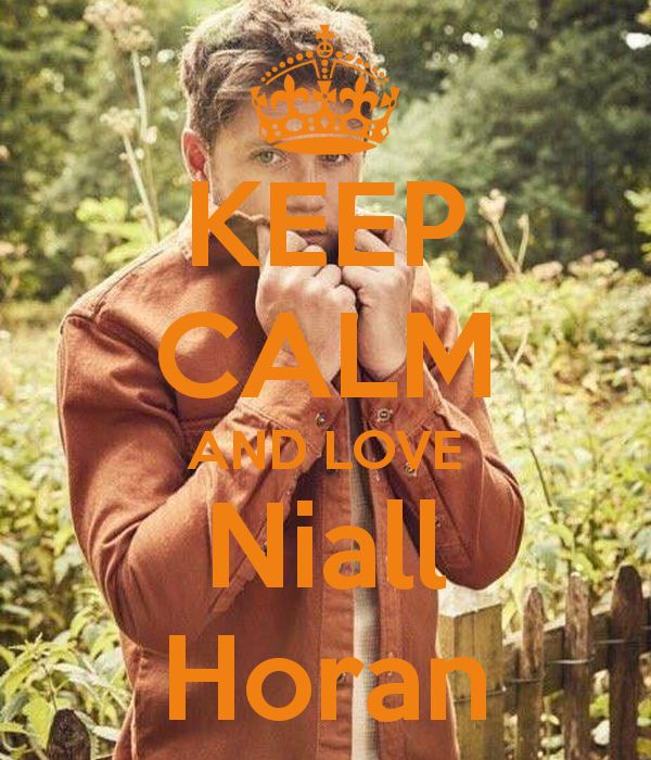 Keep calm: Niall Horan (12)