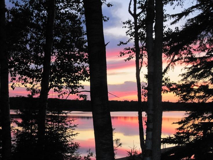 Sunset  Trout Lake U.P. Michigan: Trout Lakes, Lakes U.S. P, Lake Michigan, Adventure Time, Yooper Kingdom, Lakes Michigan, Sunsets Trout, Living Laughing