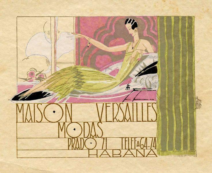 1920s cuba advertisements 1930s havana maison for Decoration maison 1930 renove