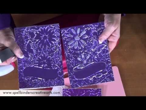 How to Use 3D M-Bossabilities.  I am in love with these new folders by Spellbinders!!