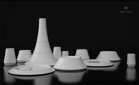 Portion control plates and cups by Soo Kwon. I believe it is very important to watch how much you intake!