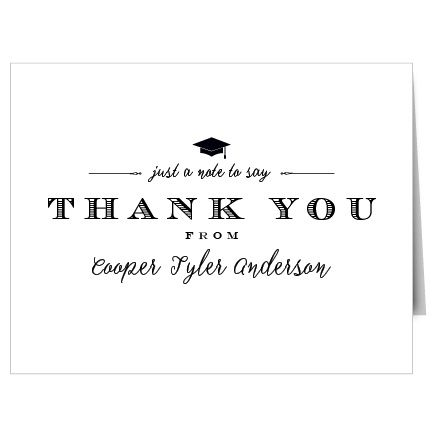 44 best Graduation Thank You Cards images on Pinterest