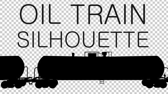 Cargo Railway Shipping Silhouette