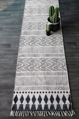 For by the bed?  Scandi Runner #home #decor  #accessories