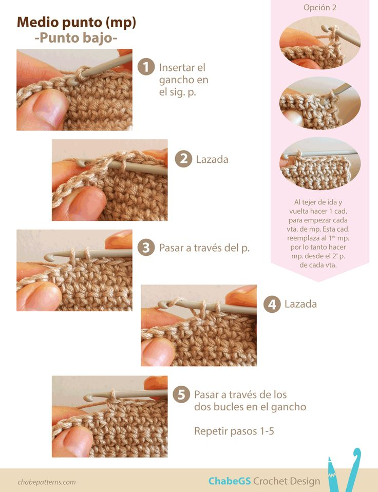 17 best images about tutoriales de ganchillo on pinterest - Como empezar a hacer punto paso a paso ...