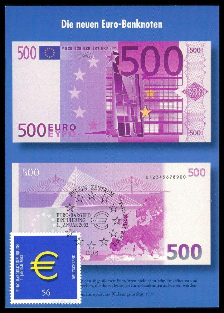BUND MK 2002 EURO-EINFÜHRUNG PRIVATE! MAXIMUMKARTE CARTE MAXIMUM CARD MC cc94